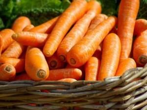 Calorías de las zanahorias