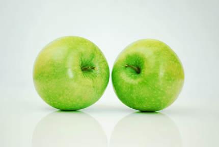 Calorias de una manzana verde