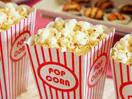 Calorías de las palomitas del cine