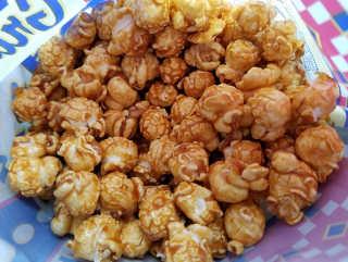 Palomitas de maiz dulces calorias