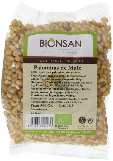 Comprar palomitas de maíz 100% naturales