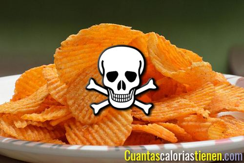 Las patatas fritas de bolsa son puro veneno
