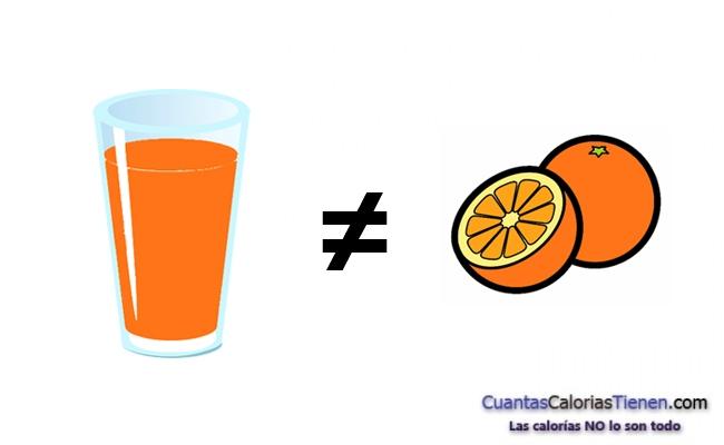 Los zumos caseros no son sanos