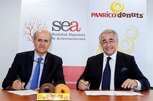Colaboracion SEA y Panrico Donuts