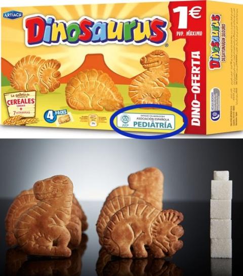 Galletas Dinosaurus AEP logo