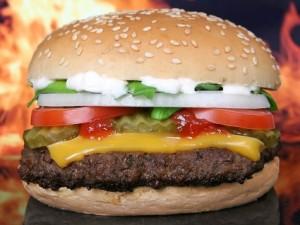 Las hamburguesas solo son bocadillos redondos