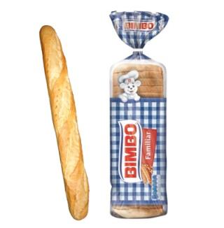 Pan blanco ultraprocesado