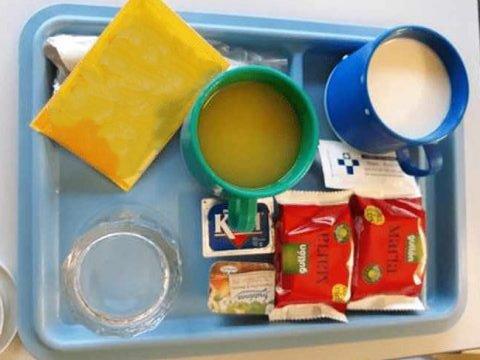 Galletas en menú de enfermos ingresados en hospital