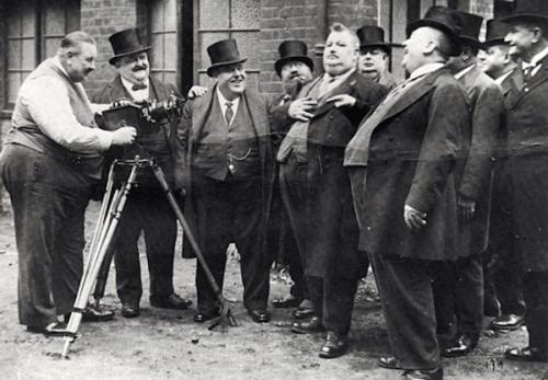 Obesos en el siglo XIX